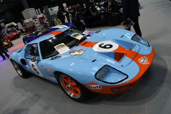 Ford GT40 at Autosport International, Day Two, NEC, Birmingham, England, Friday 12 January 2018.
