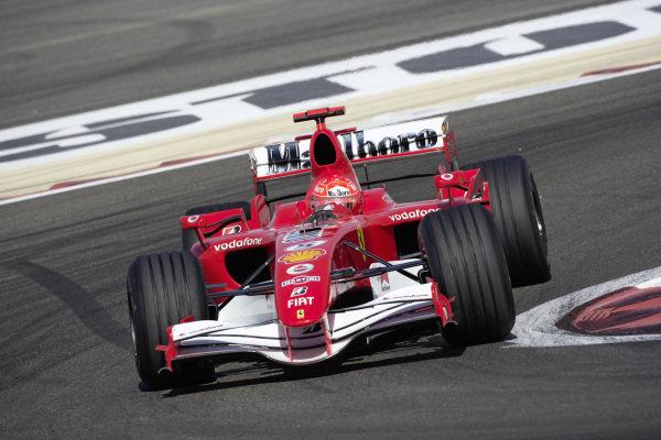 Michael Schumacher, Ferrari 248 F1.