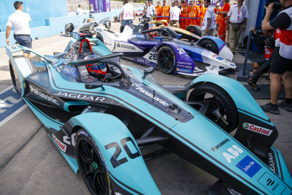 Mitch Evans (NZL), Panasonic Jaguar Racing, Jaguar I-Type 4, 3rd position