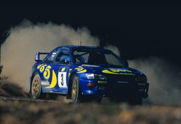 1998 World Rally Championship.Australian Rally, Australia. 5-8 November 1998.Colin McRae/Nicky Grist (Subaru Impreza WRC), 4th position.World Copyright: Coates/LAT PhotographicRef: 35mm transparency 98RALLY16