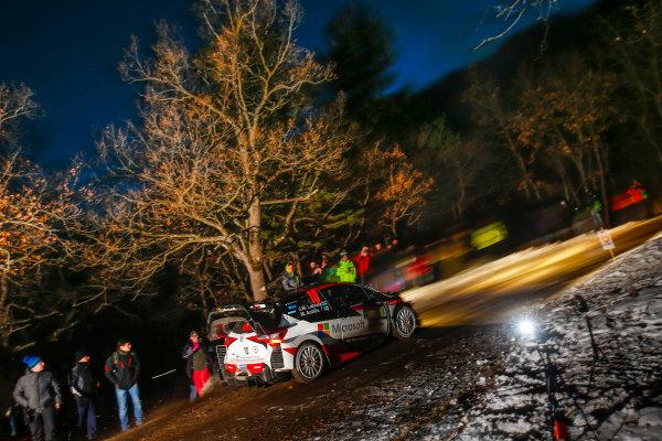 2017 FIA World Rally Championship,  Round 01, Rally Monte Carlo,  January 18-22, 2017,  Jari-Matti Latvala/Miikka Anttila (Toyota Yaris WRC) Worldwide Copyright: McKlein/LAT