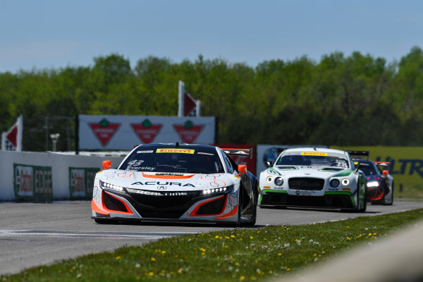 Pirelli World Challenge Victoria Day SpeedFest Weekend Canadian Tire Motorsport Park, Mosport, ON CAN Saturday 20 May 2017 Ryan Eversley/ Tom Dyer World Copyright: Richard Dole/LAT Images ref: Digital Image RD_CTMP_PWC17067