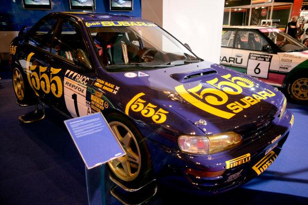 NEC, Birmingham. 9th January 2009.ex-Colin McRae Subaru Impreza Rally Car.World Copyright: Alastair Staley/LAT Photographicref: Digital Image _P9O0064