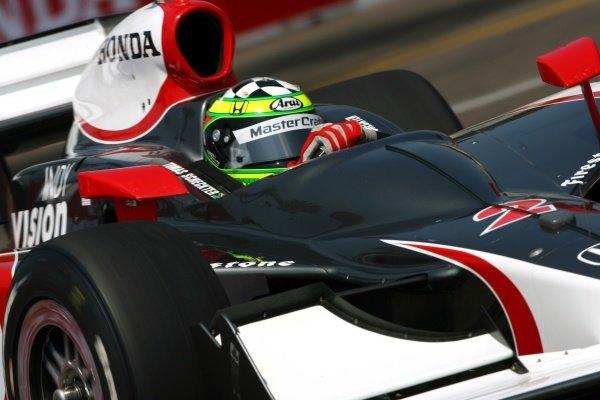 Tomas Scheckter (RSA), Vision Racing Dallara Honda.IRL IndyCar Series, Rd2, Honda Grand Prix of St Petersburg, Florida, USA. 31 March-01 April 2007.DIGITAL IMAGE