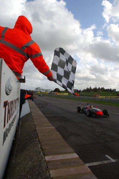 Race 2 - Yelmer Buurman (NED) Fortec Motorsport British Formula Three, Thruxton, England.23rd September 2006DIGITAL IMAGE