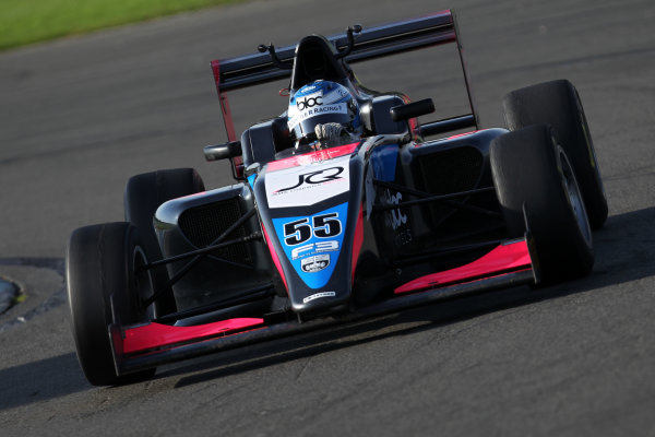 2017 BRDC British F3 Championship, Donington Park, Leicestershire. 23rd - 24th September 2017. Jamie Chadwick (GBR) Double R Racing BRDC F3 World Copyright: JEP/LAT Images