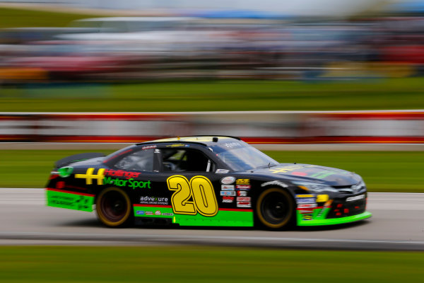 NASCAR XFINITY Series Johnsonville 180 Road America, Elkhart Lake, WI USA Sunday 27 August 2017 James Davison, Hollinger Motor Sports Toyota Camry World Copyright: Russell LaBounty LAT Images