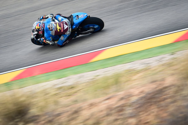2017 MotoGP Championship - Round 14 Aragon, Spain. Friday 22 September 2017 Jack Miller, Estrella Galicia 0,0 Marc VDS World Copyright: Gold and Goose / LAT Images ref: Digital Image 693700