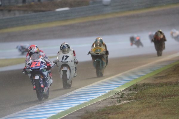 2017 Moto3 Championship - Round 15 Motegi, Japan. Sunday 15 October 2017 Fabio Di Giannantonio, Del Conca Gresini Racing Moto3 World Copyright: Gold and Goose / LAT Images ref: Digital Image 22673
