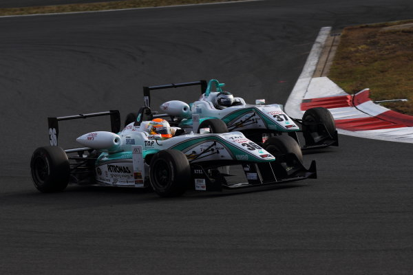 Rd 14 - 15. Fuji Speedway, Japan. 13th - 14th October 2012. Rd 14 - Winner Yuichi Nakayama ( #36 PETRONAS TEAM TOM'S ) World Copyright: Yasushi Ishihara/LAT Photographic ref: Digital Image 2012JF3_Rd14_007