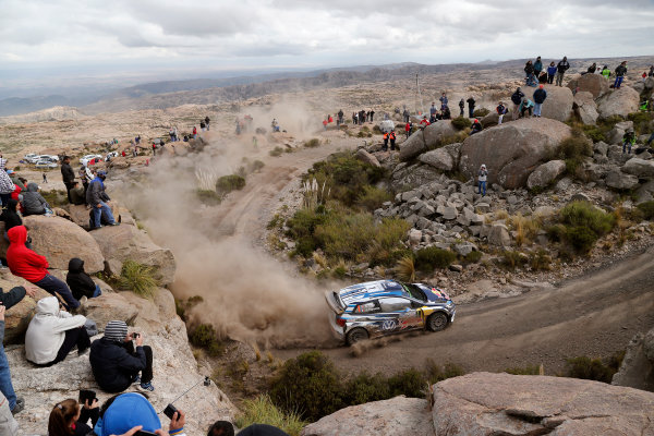 2016 FIA World Rally Championship, Round 04, Rally Argentina, April 21-24, 2016 Sebastien Ogier, VW, action  Worldwide Copyright: McKlein/LAT