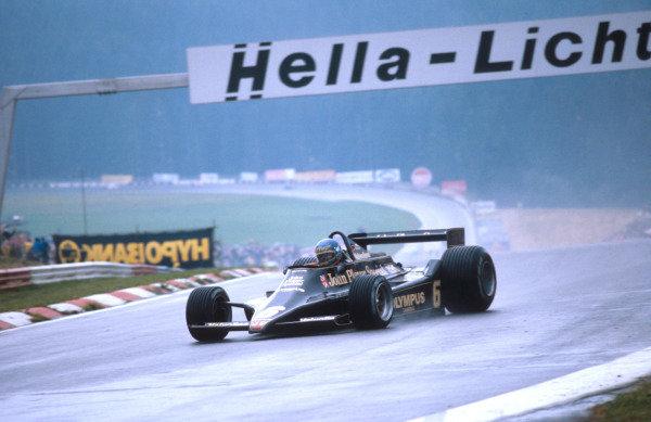 1978 Austrian Grand Prix.Osterreichring, Zeltweg, Austria.11-13 August 1978.Ronnie Peterson (Lotus 78 Ford) 1st position.Ref-78 AUT 03.World Copyright - LAT Photographic