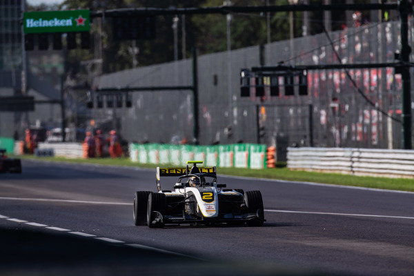 AUTODROMO NAZIONALE MONZA, ITALY - SEPTEMBER 08: Max Fewtrell (GBR, ART Grand Prix) during the Monza at Autodromo Nazionale Monza on September 08, 2019 in Autodromo Nazionale Monza, Italy. (Photo by Joe Portlock / LAT Images / FIA F3 Championship)