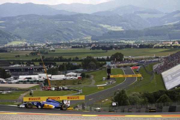 Felipe Massa (BRA) Williams FW38 at Formula One World Championship, Rd9, Austrian Grand Prix, Practice, Spielberg, Austria, Friday 1 July 2016.