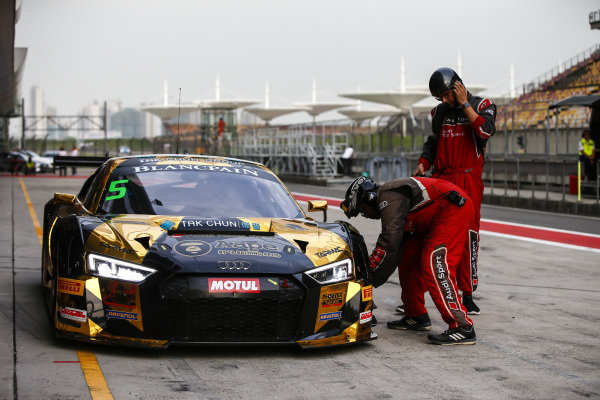 Marchy Lee Shaun,  Audi Hong Kong  at Blancpain GT Series Asia, Rd9 and Rd10, Shanghai, China, 23-24 September 2017.