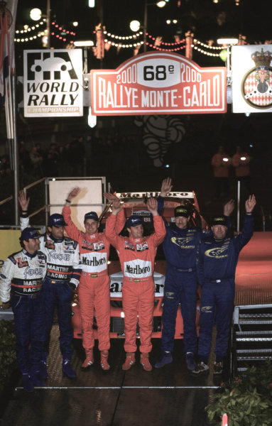 WRC Monte Carlo 2000