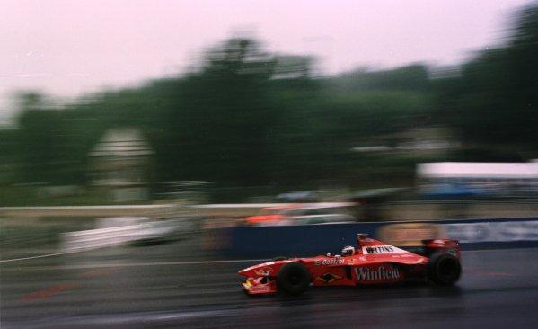 1998 Belgian Grand Prix.Spa-Francorchamps, Belgium. 28-30 August 1998.Heinz-Harald Frentzen (Williams FW20 Mecachrome) 4th position.World Copyright - Steve Etherington/LAT Photographic