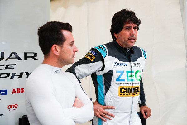 Bryan Sellers (USA), Rahal Letterman Lanigan Racing and Cacá Bueno (BRA), Jaguar Brazil Racing