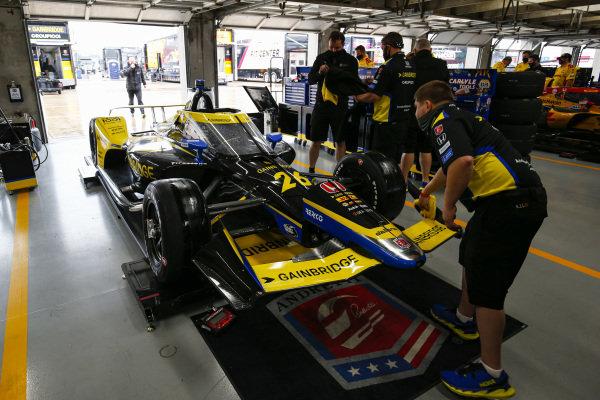 #26: Colton Herta, Andretti Autosport Honda, Crew