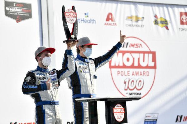 #6 Muehlner Motorsports America Duqueine M30-D08, LMP3: Moritz Kranz, Laurents Hoerr, victory lane