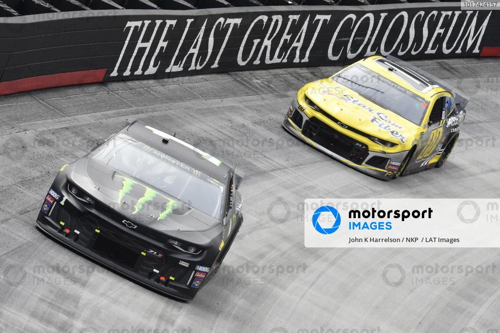 #1: Kurt Busch, Chip Ganassi Racing, Chevrolet Camaro Monster Energy,