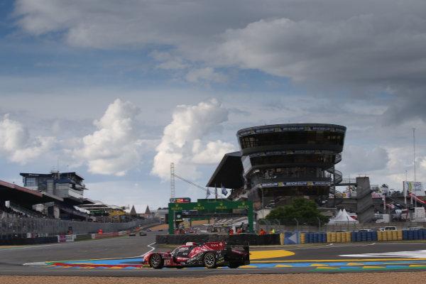 2016 World Endurance Championship,  Le Mans 24 Hours, France, 13th June 2016. Nicolas Prost / Nelson Piquet Jnr / Nick Heidfeld - Rebellion Racing Rebellion R-One AER. Word copyright: Jakob Ebrey/LAT Photographic