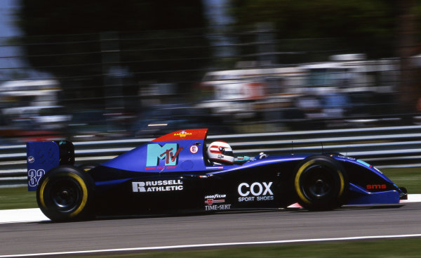Roland Ratzenberger (AUT) Simtek S941, tragically lost his life during qualifying when his front wing failed at Villeneuve Curva. Formula One World Championship, San Marino Grand Prix, Rd3, Imola, Italy, 29 April - 1 May 1994.