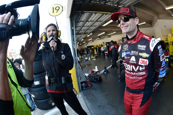 14-22 February, 2015, Daytona Beach, Florida USA Jeff Gordon ? 2015, Nigel Kinrade LAT Photo USA
