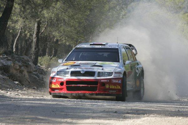 2007 FIA World Rally ChampionshipRound 8Acropolis Rally Greece31 May-3 Jun 2007Jan Kopecky, Skoda, Action.Worldwide Copyright: McKlein/LAT