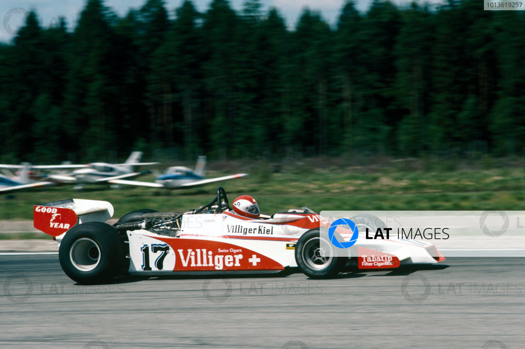 Anderstorp, Sweden. 15-17 June 1978. Clay Regazzoni (Shadow DN9-Ford) 5th position, action. World Copyright: LAT Photographic. Ref: 78SWE