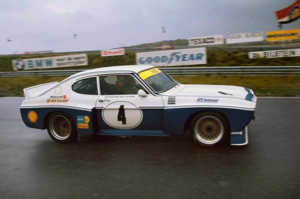 Zandvoort, Holland. 11th August 1974.Rolf Stommelen/Jochen Mass (Ford Capri RS 3100), 1st position, action.World Copyright - LAT Photographic.