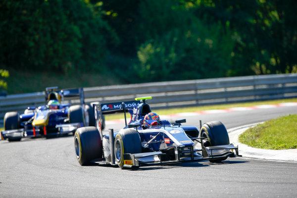 Hungaroring, Budapest, Hungary. Saturday 29 July 2017 Artem Markelov (RUS, RUSSIAN TIME).  Photo: Hone/FIA Formula 2 ref: Digital Image _ONZ9822