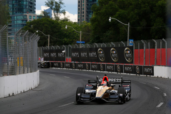 Verizon IndyCar Series Honda Indy Toronto Toronto, ON CAN Sunday 16 July 2017 James Hinchcliffe, Schmidt Peterson Motorsports Honda World Copyright: Phillip Abbott LAT Images ref: Digital Image abbott_toronto_0717_7005