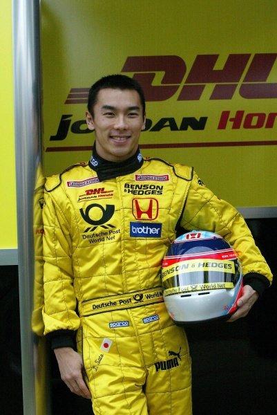 Grand Prix debutante Takuma Sato (JPN) Jordan.Australian Grand Prix, Albert Park, Melbourne, 28 February 2002DIGITAL IMAGE