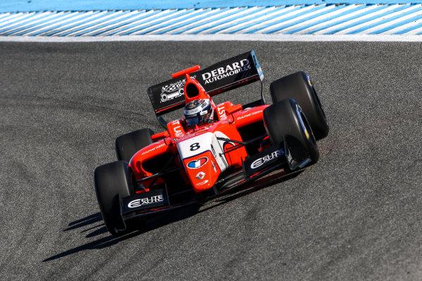 JEREZ (ESP) 28-30 oct 2016, Spanish F4, Euro Formula Open and Formula V8 3.5 2016 at circuito de Jerez. Aurelien Panis #8 Arden motorsport. Action. © 2016 Klaas Norg / Dutch Photo Agency / LAT Photographic