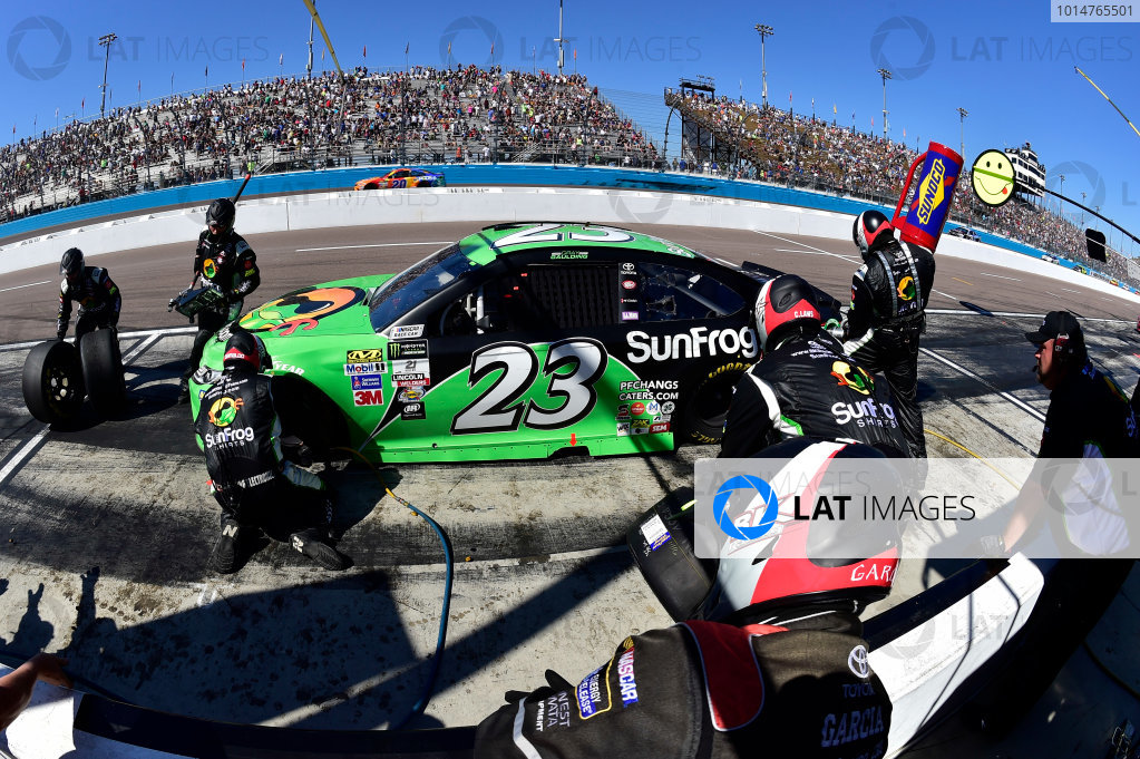 2017 Monster Energy NASCAR Cup Series Camping World 500 Phoenix International Raceway, Avondale, AZ USA Sunday 19 March 2017 Gray Gaulding World Copyright: Rusty Jarrett/LAT Images ref: Digital Image 17PHX1rj_2738