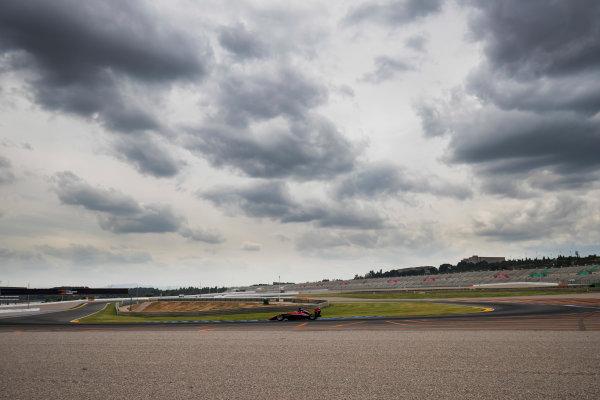 2016 GP3 Series Test 3. Circuit Ricardo Tormo, Valencia, Spain. Wednesday 26 April 2017. Jack Aitken (GBR, ART Grand Prix)  Photo: Zak Mauger/GP3 Series Media Service. ref: Digital Image _56I6504