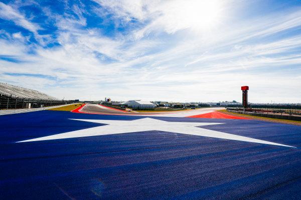 Circuit of the Americas, Austin, Texas, United States of America. Thursday 19 October 2017. Circuit Detail. World Copyright: Sam Bloxham/LAT Images  ref: Digital Image _W6I1454