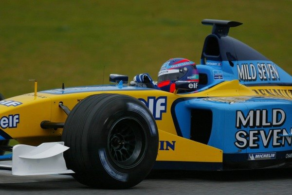 Franck Montagny (FRA) makes his debut in the Renault R202.