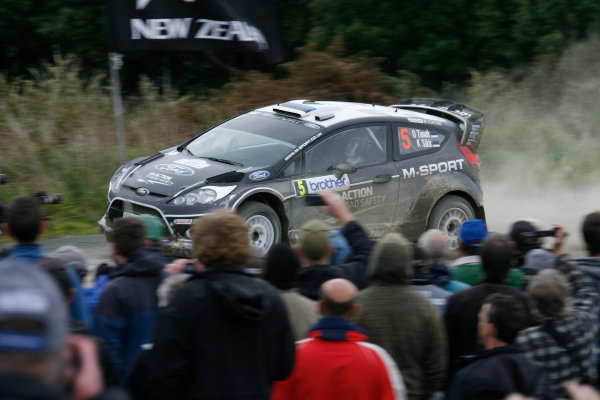 Round 7, Rally New Zealand, 21st-24th June 2012Ott Tanak, Ford, action