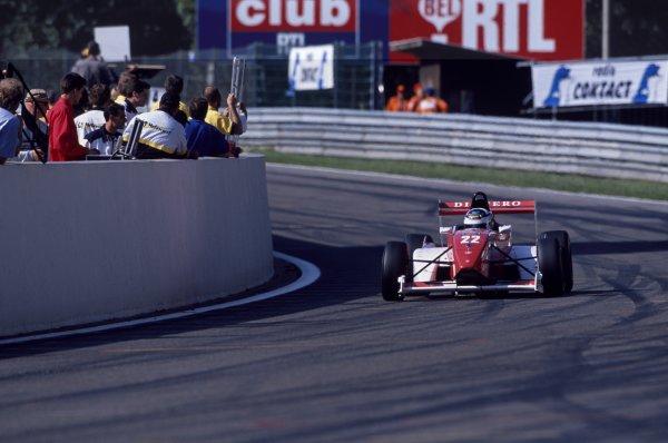 2000 Formula Renault Championship.Spa-Francorchamps, Belgium. 23rd - 24th September 2000. Rd 11.Kimi Raikkonen, 1st position, action.World Copyright: Peter Spinney/LAT Photographic.ref: 2000_FRSpa_01