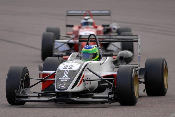 2007 British Formula Three Championship.Rockingham, England 29th and 30th September 2007.Alberto Valerio (BRA) Carlin Dallara World Copyright: Jakob Ebrey/LAT