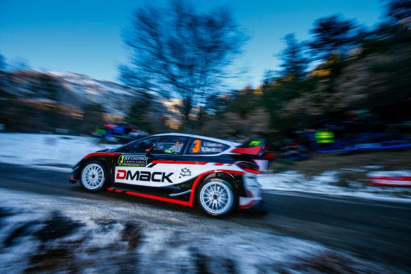 2017 FIA World Rally Championship,  Round 01, Rally Monte Carlo,  January 18-22, 2017,  Elfyn Evans/Dan Barritt (Ford Fiesta WRC) Worldwide Copyright: McKlein/LAT
