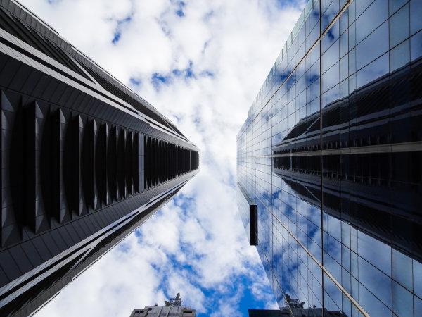Melbourne, Australia Tuesday 21 March 2017. Skyscrapers Photo: Sam Bloxham/LAT ref: Digital Image DSC00076