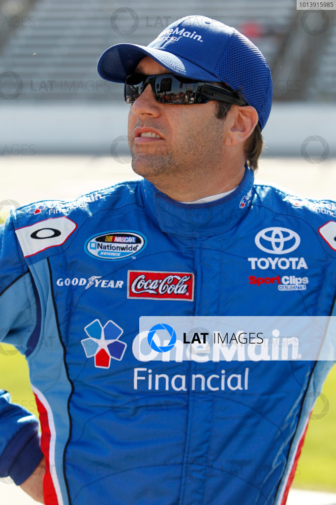 11-12 April, 2013, Fort Worth, Texas USA Elliott Sadler, OneMain Financial Toyota Camry ©2013, Matthew T. Thacker LAT South USA .