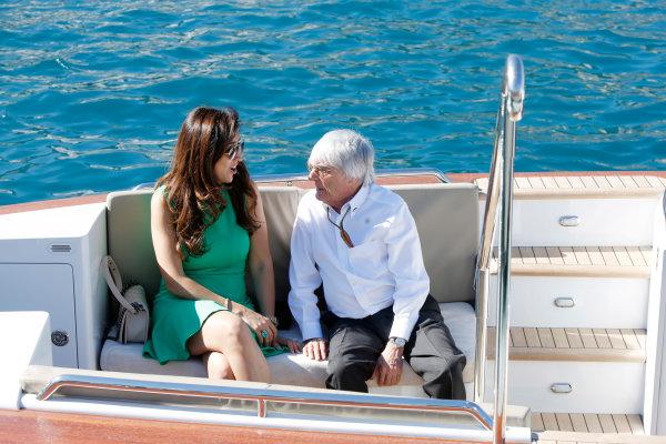 Monte Carlo, Monaco. Saturday 24 May 2014. Bernie Ecclestone, CEO and President, FOM. World Copyright: Charles Coates/LAT Photographic. ref: Digital Image _J5R2252