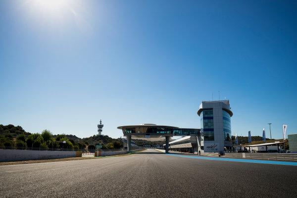 2017 FIA Formula 2 Round 10. Circuito de Jerez, Jerez, Spain. Thursday 5 October 2017. A view of the circuit. Photo: Zak Mauger/FIA Formula 2. ref: Digital Image _56I3883