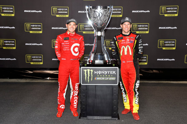Monster Energy NASCAR Cup Series Federated Auto Parts 400 Richmond Raceway, Richmond, VA USA Saturday 9 September 2017 Jamie McMurray, Chip Ganassi Racing, McDonald's Chevrolet SS and Kyle Larson, Chip Ganassi Racing, Target Chevrolet SS World Copyright: Nigel Kinrade LAT Images