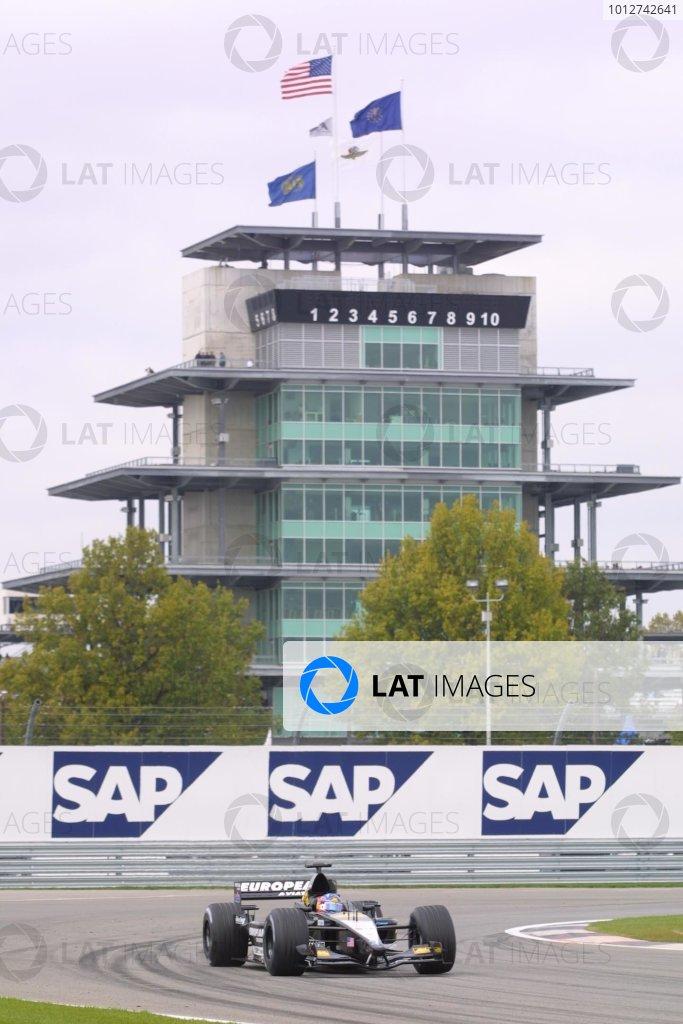 2001 American Grand Prix - Friday / Practice