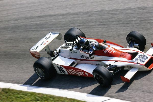 Hans-Joachim Stuck, Shadow DN9 Ford.